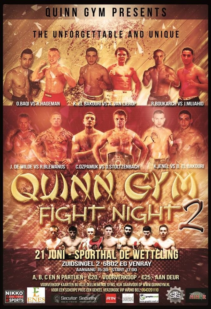 Quinn Gym Fight Night 2